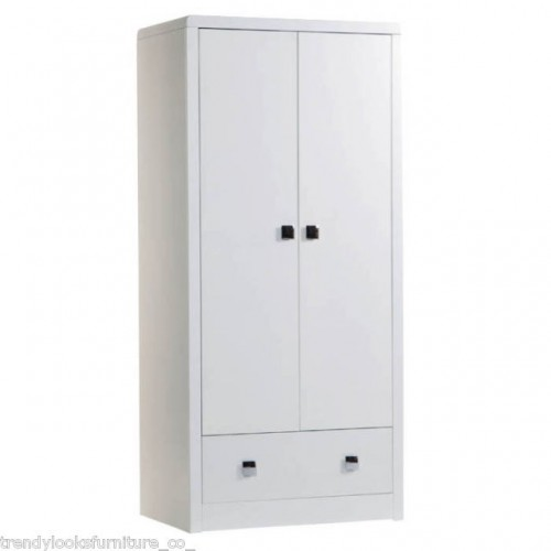 2 Door, 1 Drawer Wardrobe Plaza