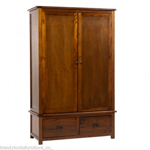 2 Door, 2 Drawer Wardrobe Cambridge Handcrafted