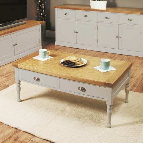 Chadwick Four Drawer Coffee Table