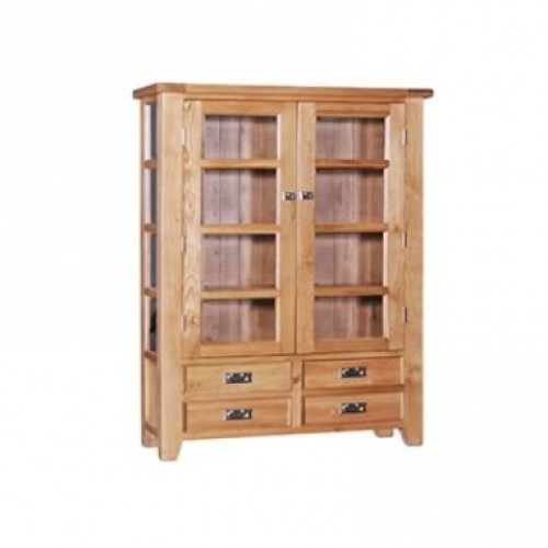 Elegance Oak Medium Bookcase