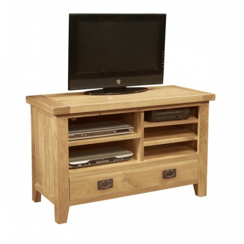 Provence Oak 1 Drawer Small TV Video Unit
