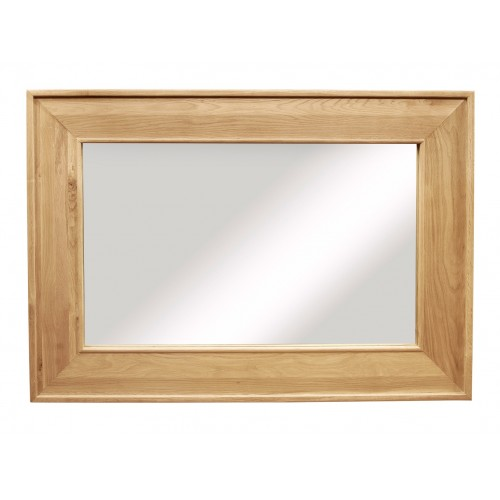 Provence Oak Large Rectangular Mirror