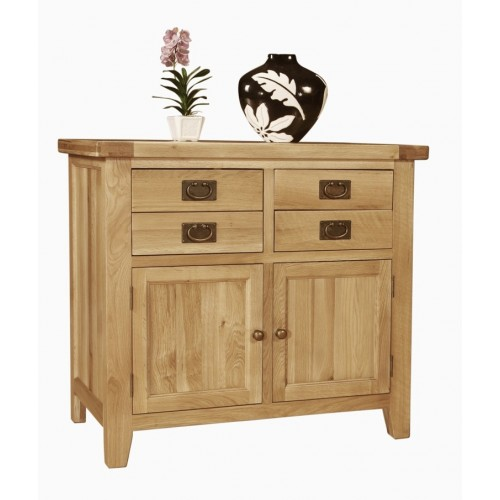 Provence Oak Small 2 Door 2 Drw Buffet Chest