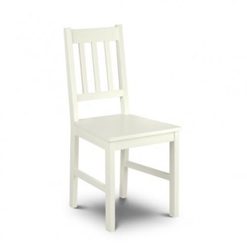 Cameo Chair Stone White Finish