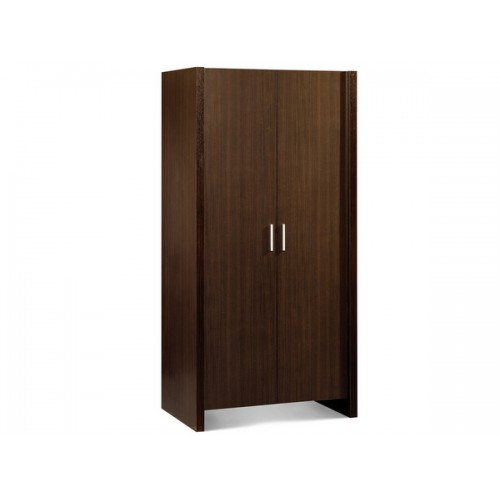Havana 2 Door Wardrobe Flat Pack Only Wenge Finish