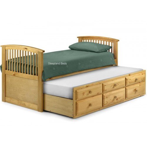 Hornblower Bed Antique Pine Finish