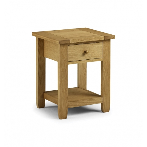 Lyndhurst 1 Drawer Bedside American White Oak