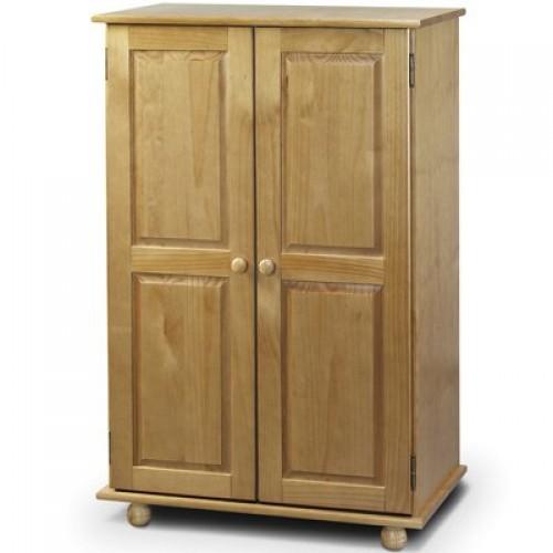 Pickwick 2 Door Wardrobe All Hanging Solid Pine