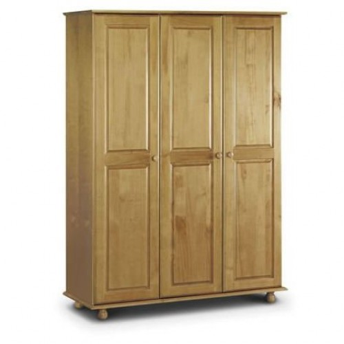 Pickwick 3 Door Wardrobe All Hanging Solid Pine