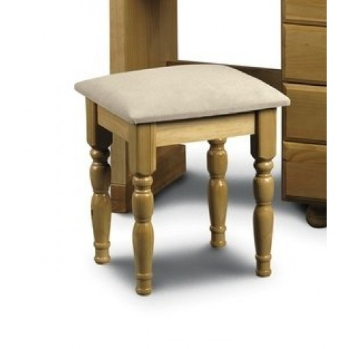 Pickwick Dressing Stool Solid Pine