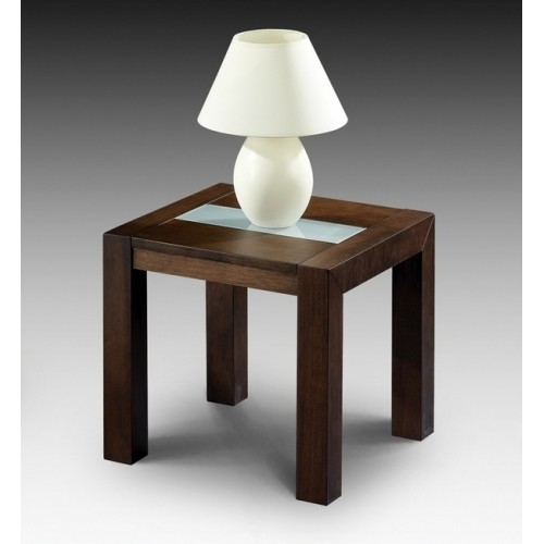 Santiago Lamp Table Wenge Finish