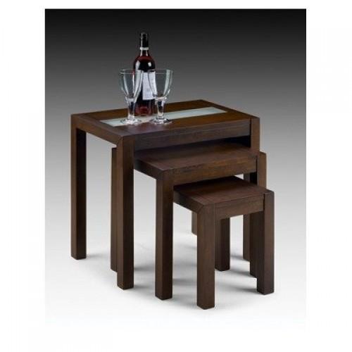 Santiago Nest of Tables Wenge Finish