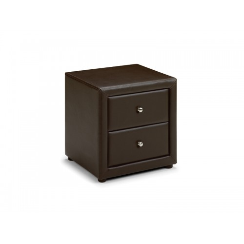 Vienna 2 Drawer Bedside Upholstered