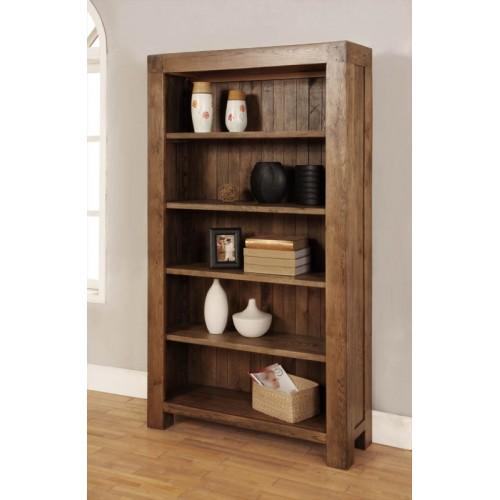Bookcase with 4 adjustable shelves Rustic Oak