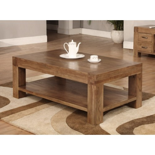 Coffee Table 1200 x 700 Rustic Oak