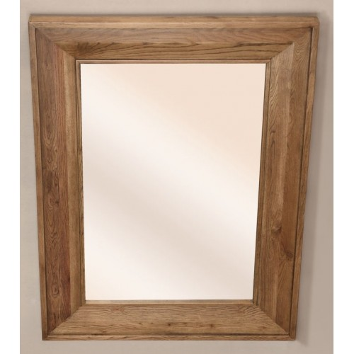 Large Rectangular Mirror (1500x1060) Rustic Oak