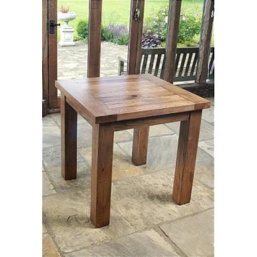 Square Dining Table (80cm x 80cm) Rustic Oak