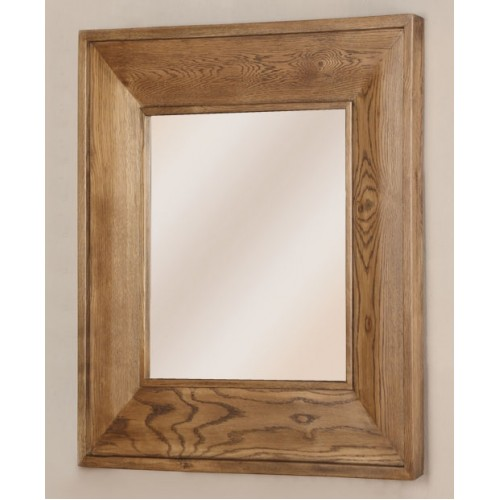 Square Mirror (900x900mm) Rustic Oak