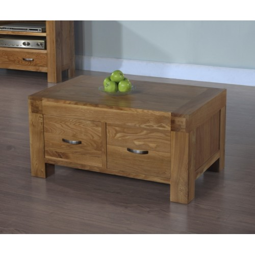 2 Drawer Coffee Table Satana Blonde