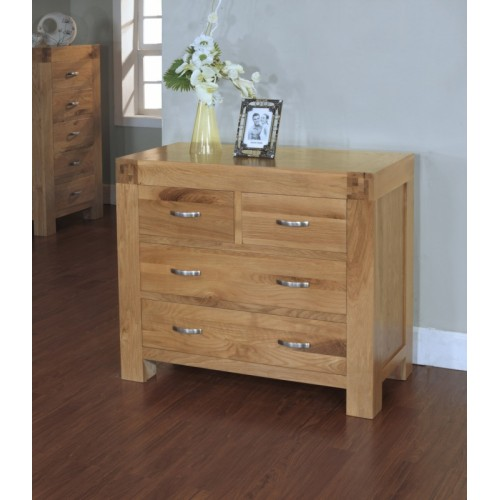 2 over 2 Chest of Drawers Satana Blonde