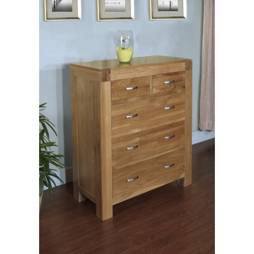 2 over 3 Chest of Drawers Satana Blonde