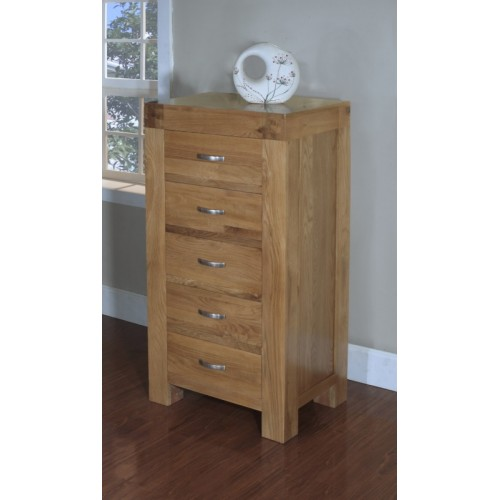 5 Drawer Wellington Chest of Drawers Satana Blonde