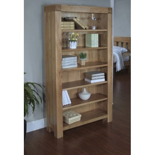 Bookcase with 4 adjustable shelves Satana Blonde
