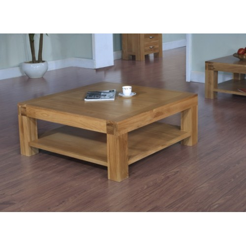 Coffee Table 1000mm x 1000mm Santana Blonde