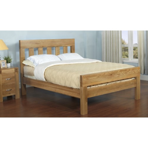 Double 4ft6 inch Bed Satana Blonde