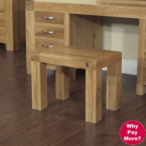 Dressing Table Stool Satana Blonde