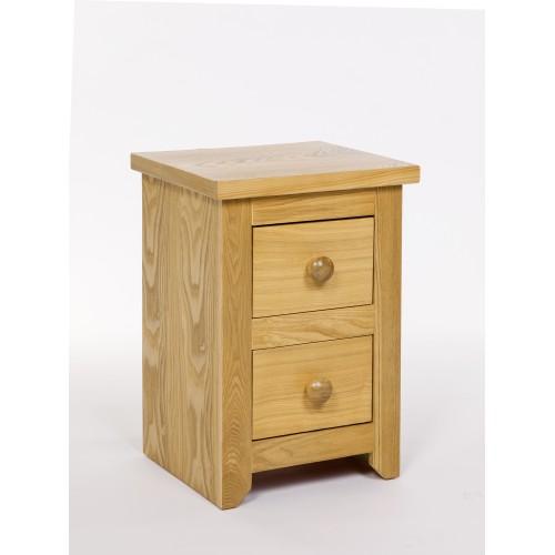 2 Drawer Petite Bedside Cabinet Hamilton