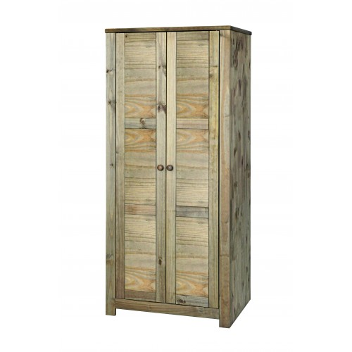 2 door wardrobe  Hacienda Waxed Pine