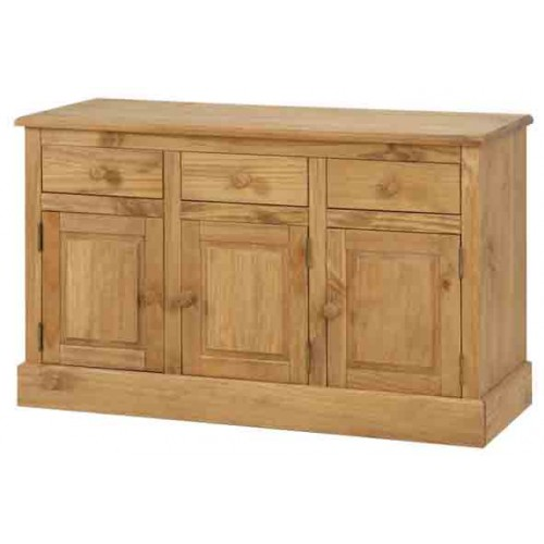 3 door, 3 drawer sideboard Cotswold Solid Wood