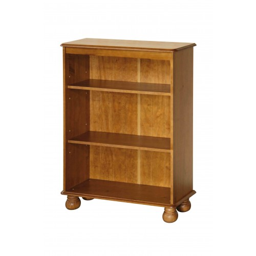 3 shelf bookcase Dovedale Antique Pine