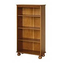 4 shelf bookcase  Dovedale Antique Pine