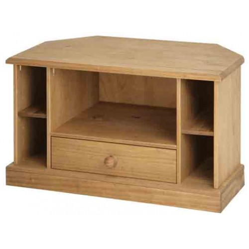 corner TV cabinet Cotswold Solid Wood