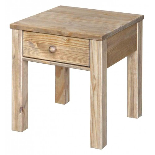 lamp table Hacienda Waxed Pine