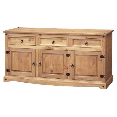 large sideboard Corona Waxed Pine