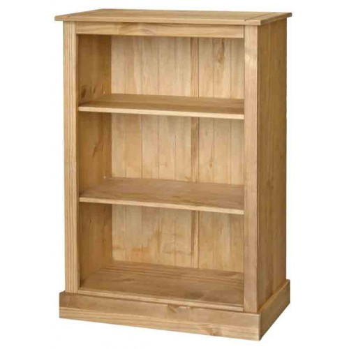 low bookcase Cotswold Solid Wood