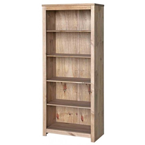 open bookcase Hacienda Waxed Pine