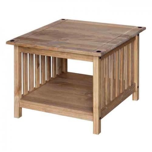 side table Corona Waxed Pine