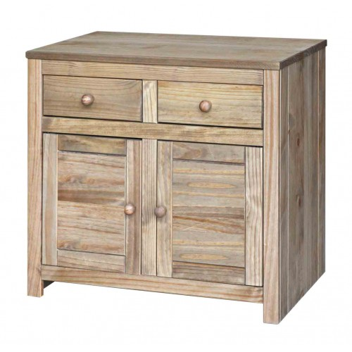 small sideboard Hacienda Waxed Pine