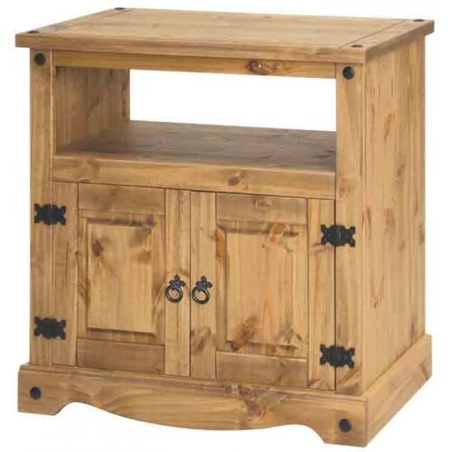 TV cabinet Corona Waxed Pine