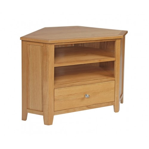 Croft Oak Corner TV Unit