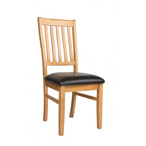 Croft Oak Dining Chair (pair)