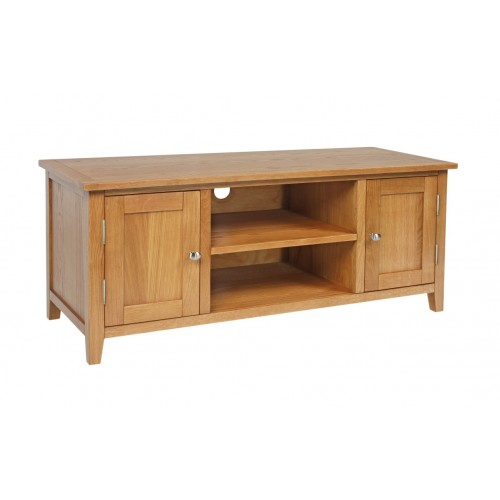Croft Oak Large TV Unit
