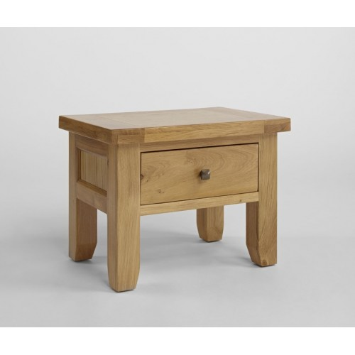 Devon Oak 1 Drawer Lamp Table