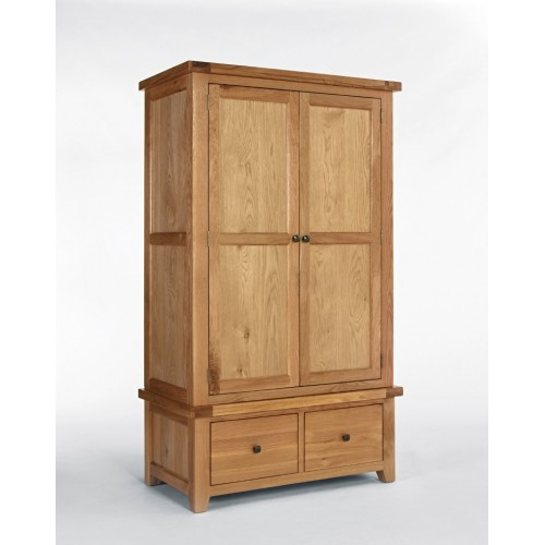 Devon Oak Gents Wardrobe
