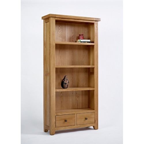 Devon Oak Large Bookcase