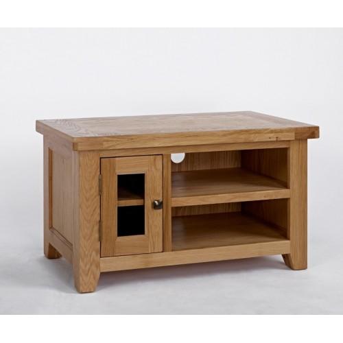 Devon Oak Small TV Unit